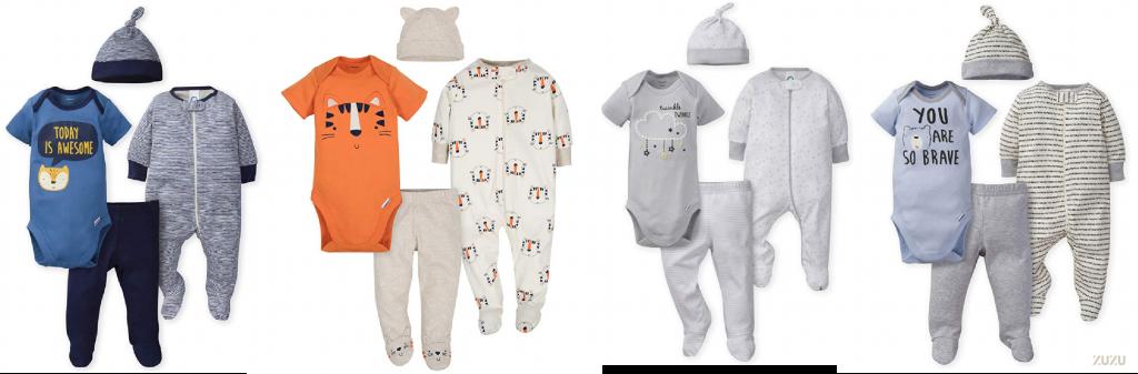 סט 4 חלקים תינוקות מבצע משלוחינם אמזון זוזו דילס הכי זול ברשת 01 01