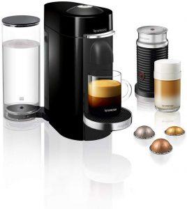 מכונת קפה נספרסו עם מקציף חלב