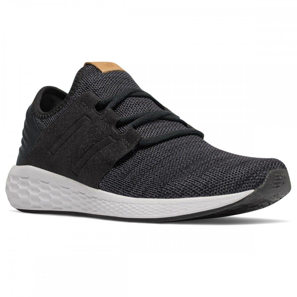 new balance footwear mens fresh foam cruz v2 knit black