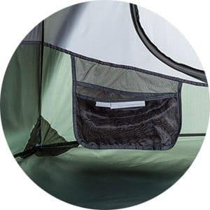 כיסי איחסון פנימיים אוהל