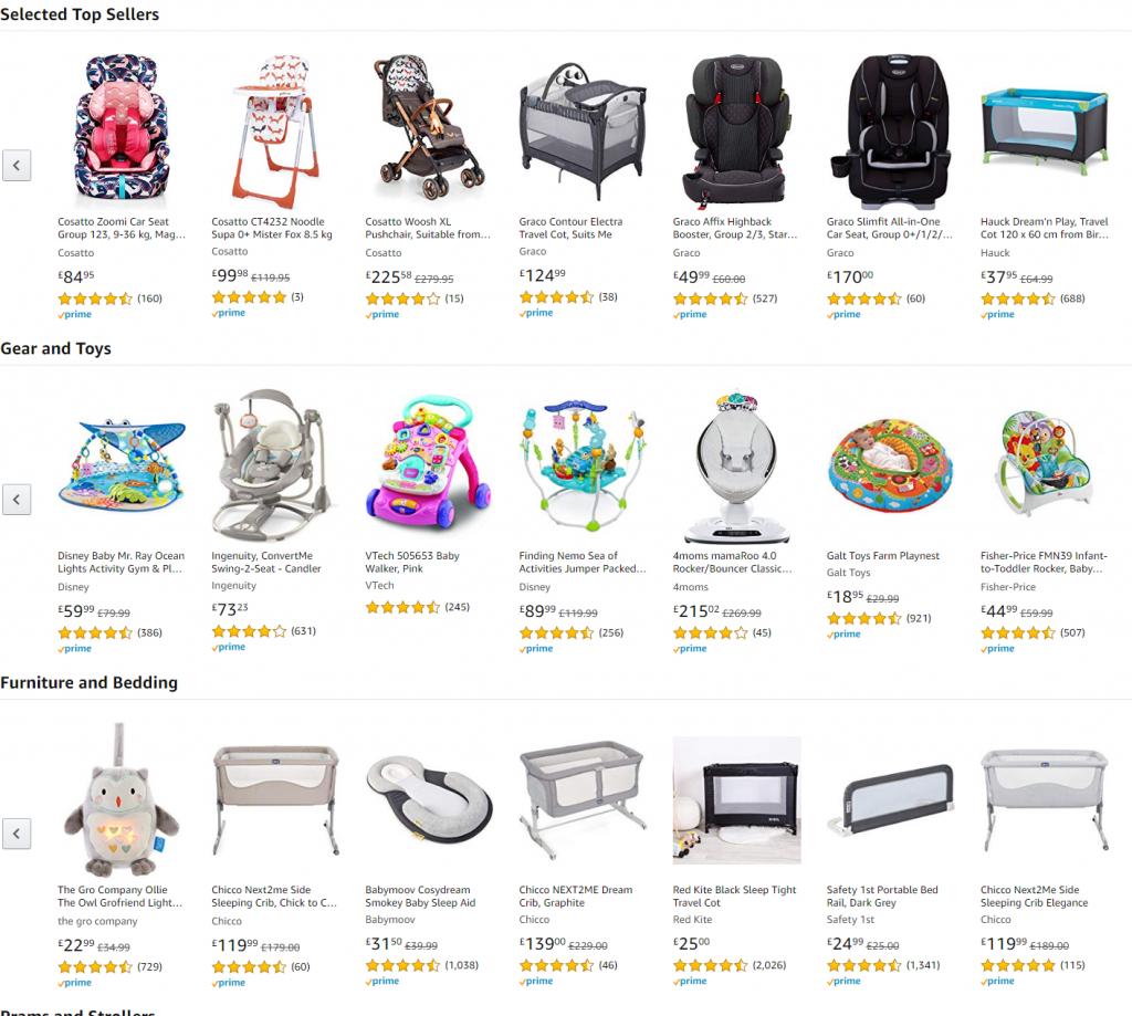 מוצרי תינוקות לקנות בזול זוזו דילס