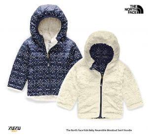 מעיל דו צדדי לתינוקות נורת פייס לקנות בזול 01