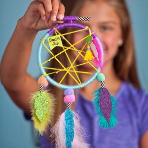 ערכת יצירה לוכדי חלומות לילדים מבצע אמזון