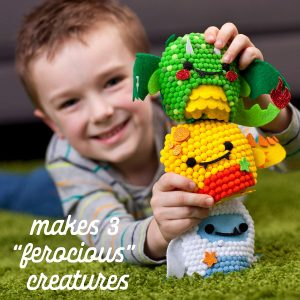 ערכת יצירה לילדים בובות פונפונים מבצע