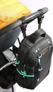 תיק גב החתלה לתלייה על העגלה קולומביה Columbia Carson Pass Backpack Diaper Bag