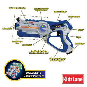 Kidzlane Infrared Laser Tag רובי משחק מבצע אמזון