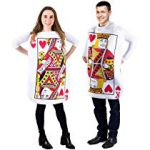 King and Queen Card Costume - Poker Cards Costume - Couple Costume - Chess Piece Hats - King & Queen of Hearts