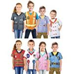Unisex 1st Career, Pretend and Play Costume Collection (8-Pack)