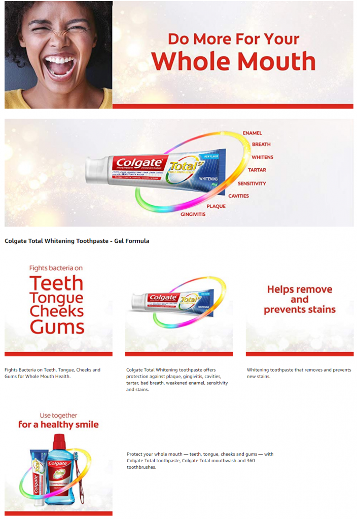 משחת שיניים קולגייט טוטאל הלבנה מבצע לקנות בזול זוזו דילס
