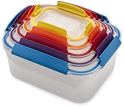 Nest   Joseph Joseph סט 5 קופסאות אחסון למזון ב₪71 בלבד! במקום ₪199