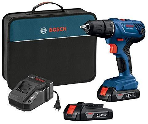 חזר! מקדחה/מברגה Bosch 18V GSR18V-190B22 עם 2 סוללות, מטען ותיק ללא מכס ועם משלוח חינם! רק $63.20 / ₪232!