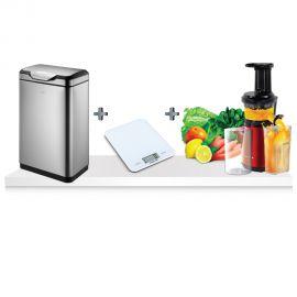 באנדל פסח! פח EKO מעוצב + מסחטת מיצים ופירות קשים + משקל מטבח ב499 ₪ ומשלוח חינם!