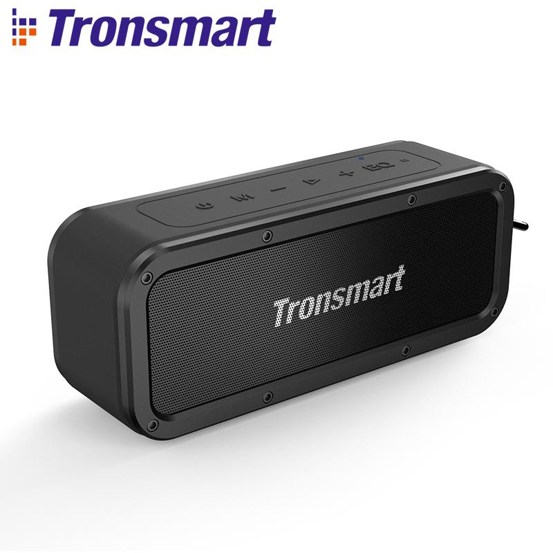Tronsmart Force Bluetooth Speaker Bluetooth 5 0 Portable Speaker IPX7 Waterproof 40W Speakers 15H Playtime with