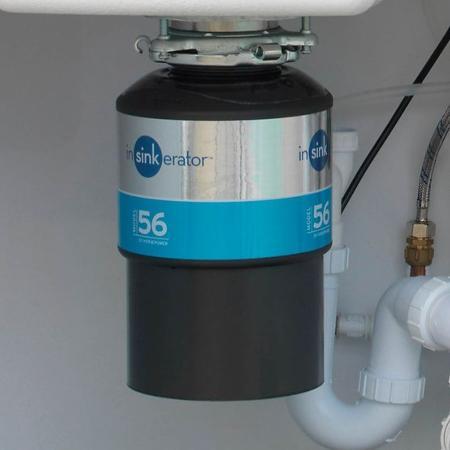 insinkerator waste disposal model 56 under sink big