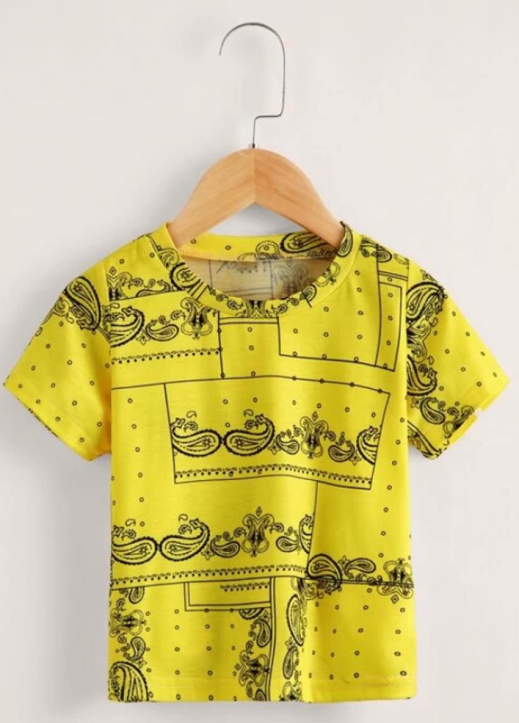 חולצת בנדנה לפעוטות