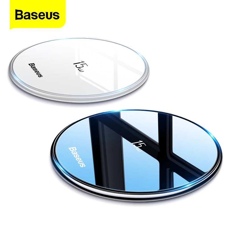 img 0 Baseus 15W Qi Wireless Charger for iPhone 11 Pro Xs Max X 8 Induction Fast Wireless