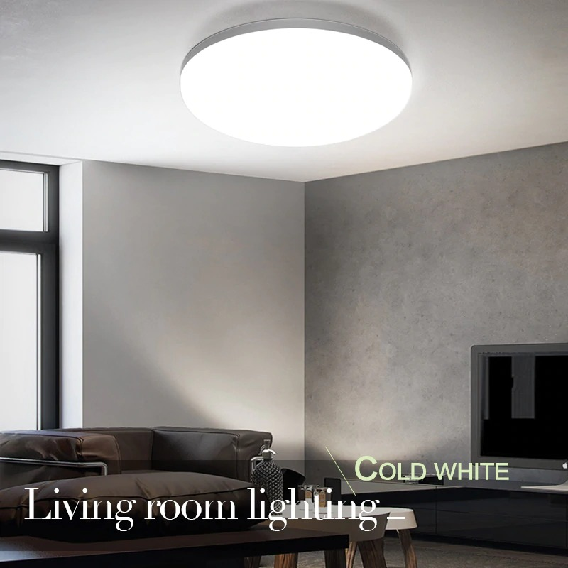 img 5 LED ceiling lights for room 18W 24W 36W 48W Cold Warm White Natural light LED