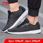 us 35 74 35 offli ning men basic runer running shoes mono yarn breathable lining li ning light sneakers fitness sport shoes arbn013 xyp688running shoes