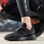 us 46 9 30 offli ning men crazy run cushion running shoes breathable light weight comfort lining li ning fitness sport shoes arhp147 xyp945running shoes