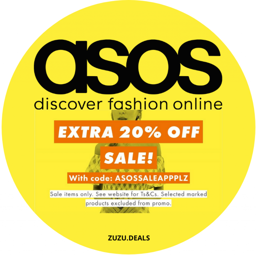 ASOS SALE CODE ZUZU DEALS קופון