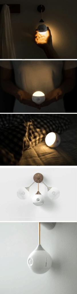 מנורת לילה אוטומטית שיאומי בזול
