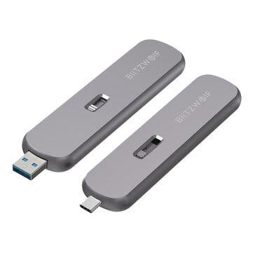 BW-SSDE4/BW-SSDE5 – מארז כונן SSD מבית BlitzWolf! קומפקטי, מהיר ומשתלם! רק $10.29!