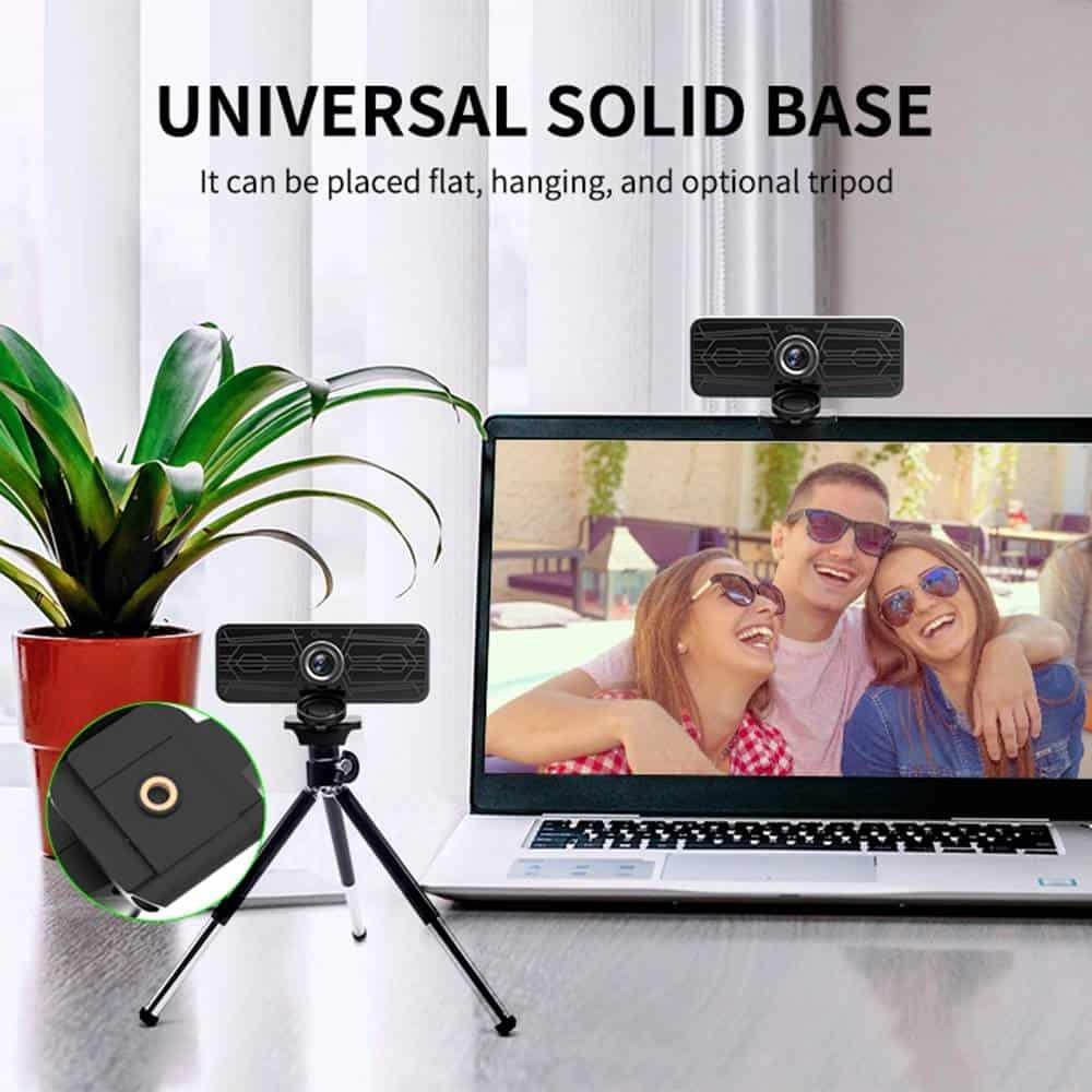 geekbuying Gsou T16s 1080P HD Webcam Built in Microphone Black 852680