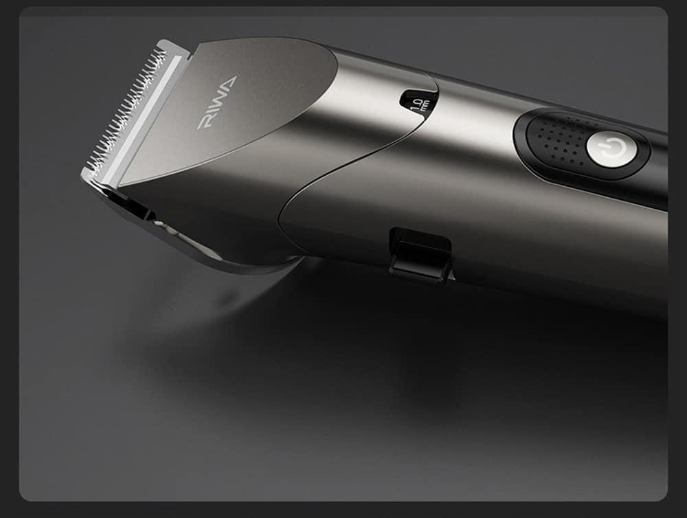 geekbuying RIWA Washable Hair Trimmer LED Display 860803