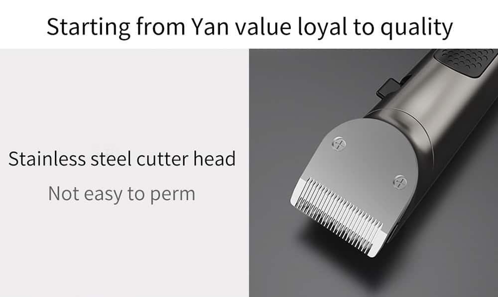 geekbuying RIWA Washable Hair Trimmer LED Display 860809