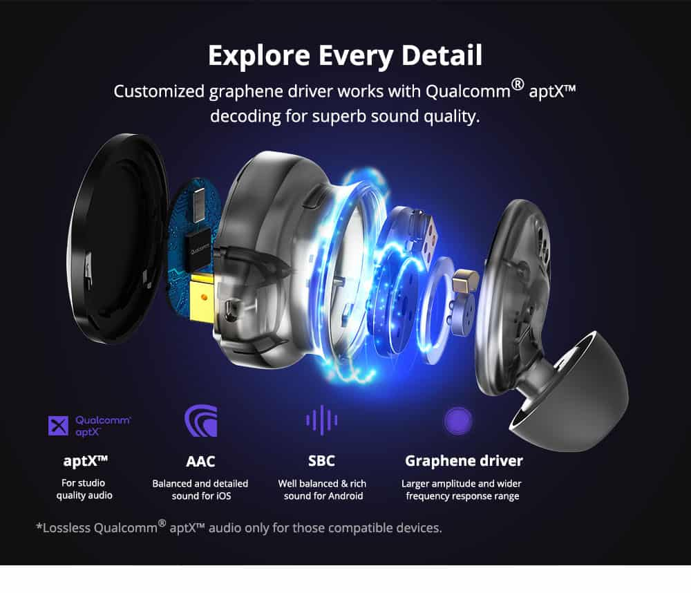 geekbuying Tronsmart Apollo Bold ANC TWS Earbuds 861186