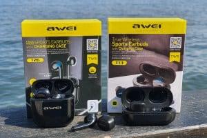 אוזניות אלחוטיות של Awei במבצעי AliExpress