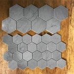 US $13.88 36% OFF|Hexagon concrete tiles molds silicone cement brick wall molds TV background tiles mold|Cake Molds|