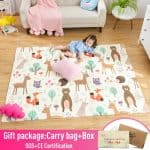US $39.1 54% OFF|Infant Shining Baby Play Mat Xpe Puzzle Children's Mat Thickened Tapete Infantil Baby Room Crawling Pad Folding Mat Baby Carpet|baby carpet|children matbaby play mat