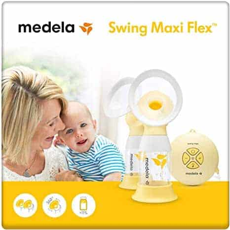 Medela Swing Maxi Flex משאבת חלב חשמלית כפולה רק ב₪806 בלבד! (בארץ ₪1,085)