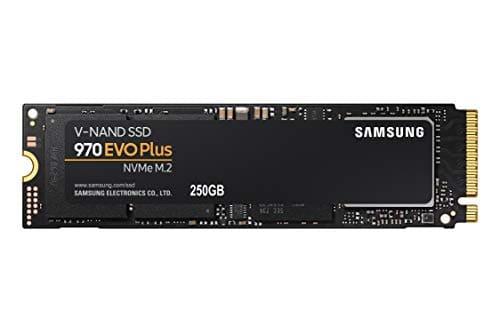 """ירידת מחיר! כונן Samsung 970 EVO Plus SSD 250GB – M.2 NVMe מהיר ואמין במיוחדרק ב70.98$ / 245 ש""""ח!"""