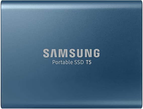 """איזה מחיר! כונן חיצוני מהיר Samsung Portable SSD T5 500GB בפחות מ-300 ש""""ח עד הבית!"""