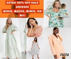ואווו איזה מחירים! כפל הנחות על שמלות מושלמות! קופון 20% הנחה על כל השמלות בSALE הלוהט בASOS! ליום אחד בלבד!