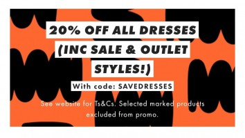 ASOS | קופון 20% הנחה על כל השמלות באתר! – קולקצייה חדשה! SALE! ואאוטלט!