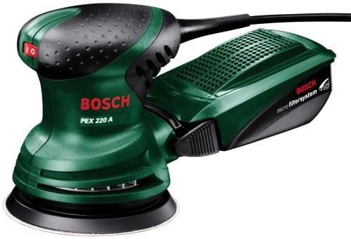 """מלטשת Bosch PEX 220 ב250 ש""""ח עד הבית (בזאפ 399 – 299 ₪)"""