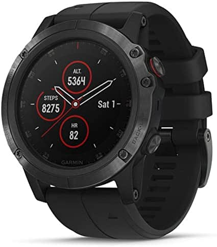 """שעון חכם Garmin fenix 5 Plus רק ב1570 ש""""ח עד הבית! (בזאפ 2,599 – 2,500 ₪!)"""