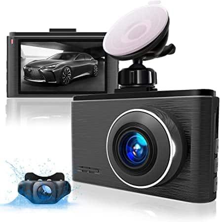 """מציאה!!! Aolbea Dash Cam – מצלמת רכב דו כיוונית, עמידה לחום, חיישן סוני ברזולוציית 2.5K, מסך גדול, מצב חנייה ב50% הנחה!!! רק $47.81 / 161 ש""""ח עד הבית!"""