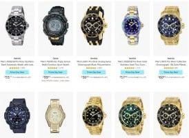 שעונים במחירים שחבל על הזמן! Citizen, Bulova, Anne Klein, Invicta…ועוד!
