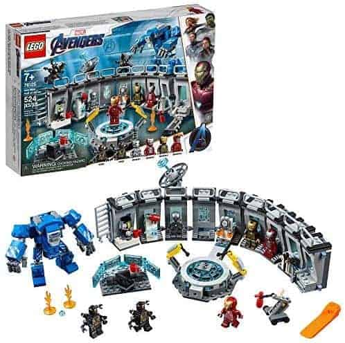 "LEGO 76125   לגו ""הנוקמים"" היכל השריון של איירון-מן (524 חלקים) ב₪235 במקום ₪414!"