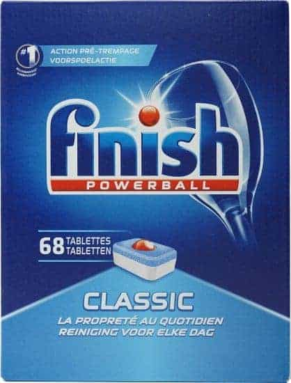 Finish Classic באנדל 5 מארזי טבליות למדיח – 340 טבליות – רק ב₪115!