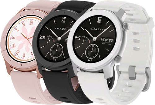 Amazfit GTR 42MM – השעון החכם הכי יפה והכי משתלם! (שגם תומך בעברית ובמבחר צבעים) במחיר רצפה! רק $85.99!