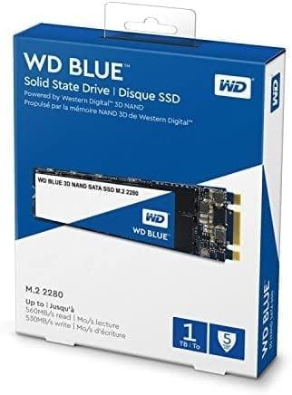 WD Blue 3D NAND 1TB רק ב438 ₪ עד הבית! (בזאפ 981 – 799 ₪)
