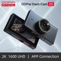 למי שרוצה גם מסך – מצלמת רכב DDPai Dash Cam Mola Z5 (הנמכרת גם כשיאומי) – רק $52.19!