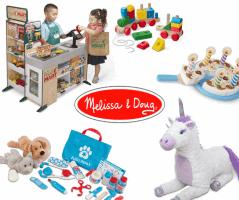 Melissa and Doug |  כל צעצועי מליסה & דאג ב25% הנחה!