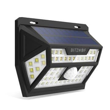 Blitzwolf® BW-OLT1 – תאורה סולארית אוטומטית –  רק ב $13.99