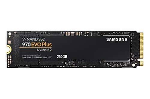 """ירידת מחיר! כונן Samsung 970 EVO Plus SSD 250GB – M.2 NVMe מהיר ואמין במיוחדרק ב70.98$ / 239 ש""""ח!"""